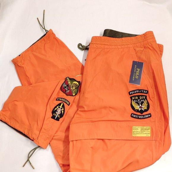 Polo Ralph Lauren Squadron Patch Flight Pants NWT
